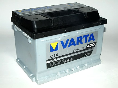 Akumuliatorius Varta Black Dynamic (12V 53 Ah 470 A)