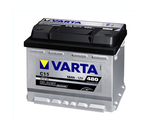 Akumuliatorius Varta Black Dynamic (12V 56 Ah 480 A)