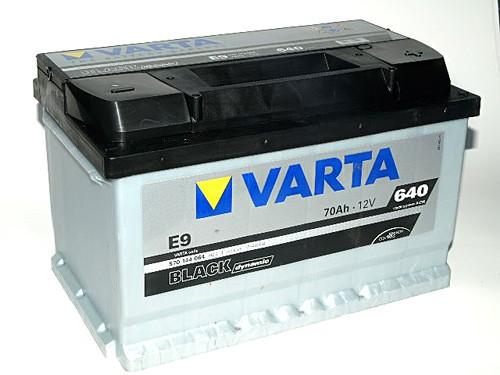 Akumuliatorius Varta Black Dynamic (12V 70 Ah 640 A)