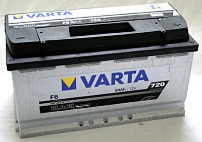 Akumuliatorius Varta Black Dynamic (12V 90 Ah 720 A)