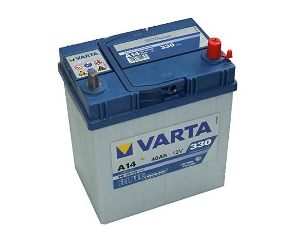 Akumuliatorius Varta Blue Dynamic (12V 40 Ah 330 A)
