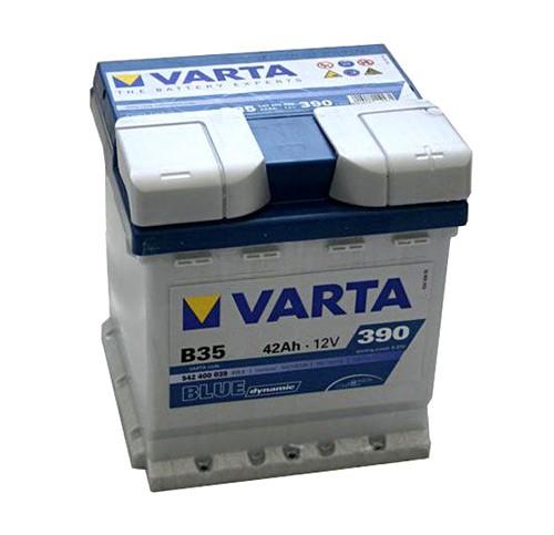 Akumuliatorius Varta Blue Dynamic (12V 42 Ah 390 A)