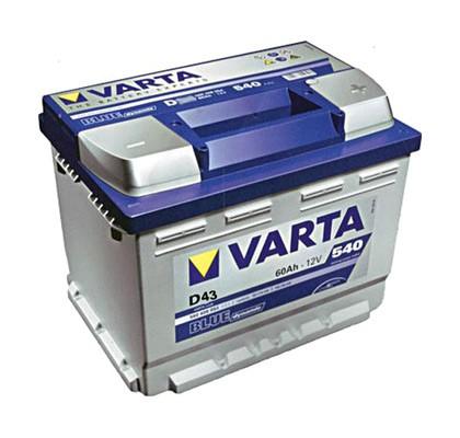 Akumuliatorius Varta Blue Dynamic (12V 60 Ah 540 A)