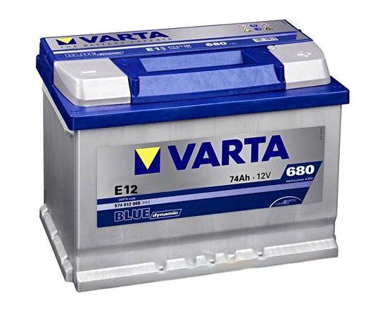 Akumuliatorius Varta Blue Dynamic (12V 74 Ah 680 A)