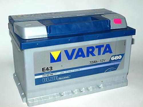 Akumuliatorius Varta Blue Dynamic (12V 72 Ah 680 A)