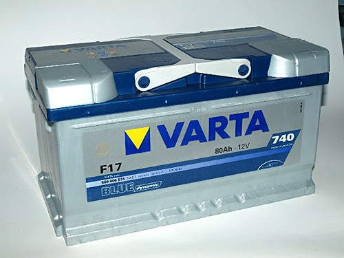 Akumuliatorius Varta Blue Dynamic (12V 80 Ah 740 A)