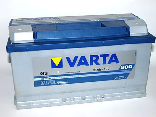Akumuliatorius Varta Blue Dynamic (12V 95 Ah 800 A)