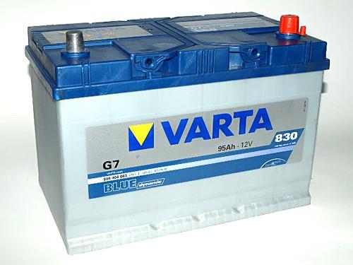 Akumuliatorius Varta Blue Dynamic (12V 95 Ah 830 A)