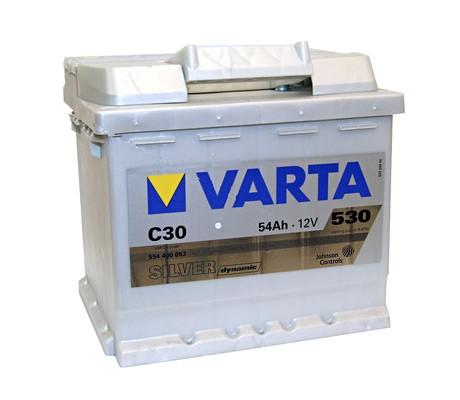 Akumuliatorius Varta Silver Dynamic (12V 54 Ah 530 A)