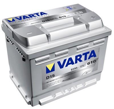 Akumuliatorius Varta Silver Dynamic (12V 63 Ah 610 A)