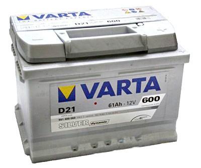 Akumuliatorius Varta Silver Dynamic (12V 61 Ah 600 A)