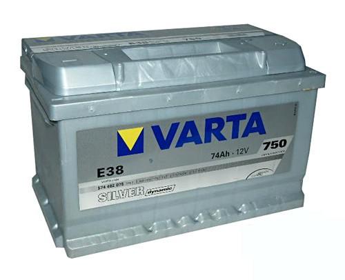 Akumuliatorius Varta Silver Dynamic (12V 74 Ah 750 A)