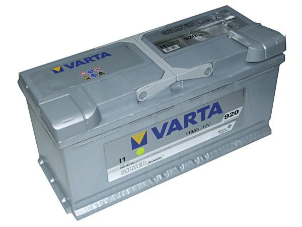 Akumuliatorius Varta Silver Dynamic (12V 110 Ah 920 A)