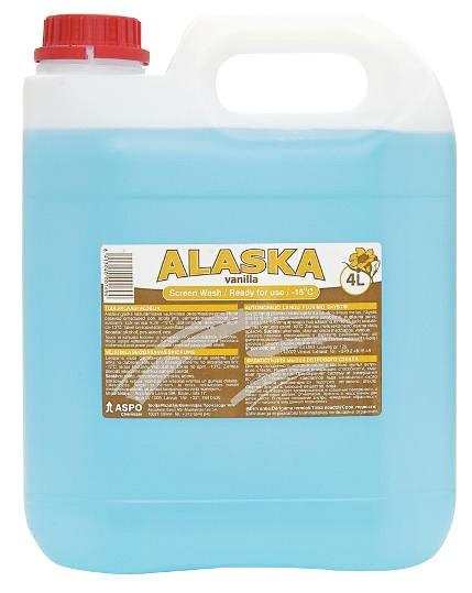 Automobilio stiklų ploviklis Alaska (-15, 4L)