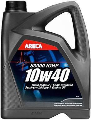 Pusiau sintetinė variklio alyva ARECA ARECA 10W40 S3000 IDHP 5L