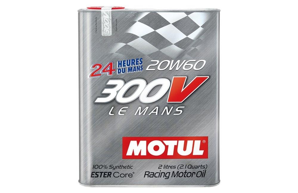 Pilnai sintetinė variklio alyva MOTUL 300V LE MANS 20W60 2L