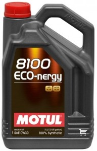 Pilnai sintetinė variklio alyva MOTUL 8100 ECO-NERGY 0W30 5L