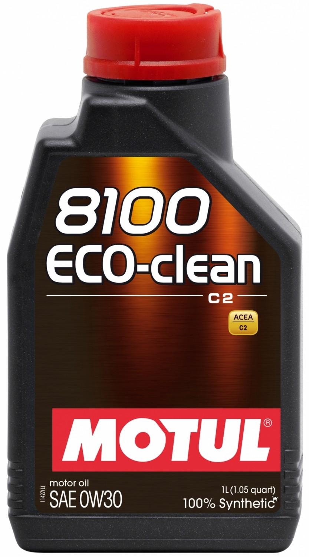 Pilnai sintetinė variklio alyva MOTUL 8100 ECO-CLEAN 0W30 1L