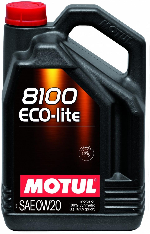 Pilnai sintetinė variklio alyva MOTUL 8100 ECO-LITE 0W20 5L