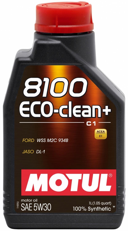 Pilnai sintetinė variklio alyva MOTUL 8100 ECO-CLEAN+ 5W30 1L