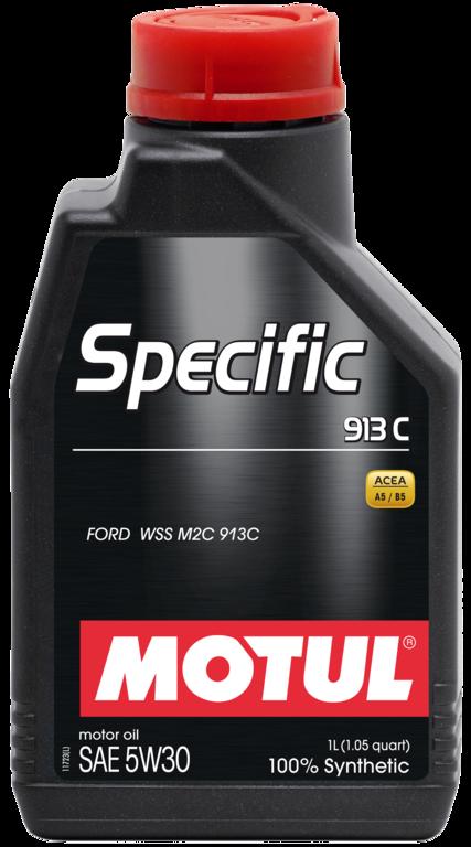 Pilnai sintetinė variklio alyva MOTUL Specific Ford 913C 5W30 5L