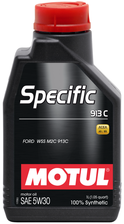 Pilnai sintetinė variklio alyva MOTUL Specific Ford 913C 5W30 1L