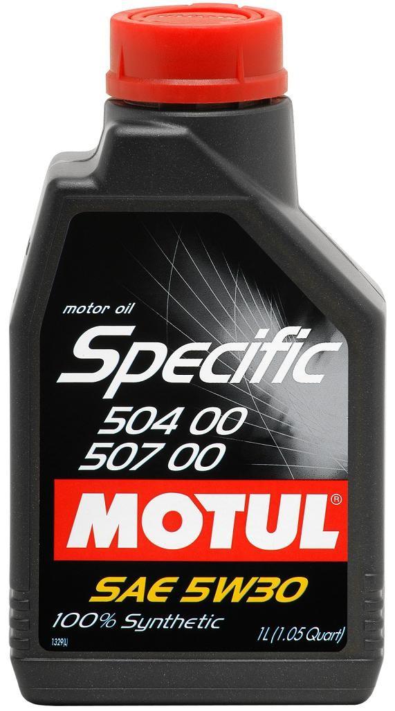 Pilnai sintetinė variklio alyva MOTUL SPECIFIC 50400-50700 1L