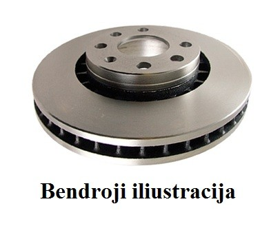 Stabdžių diskai EBC Standart D024
