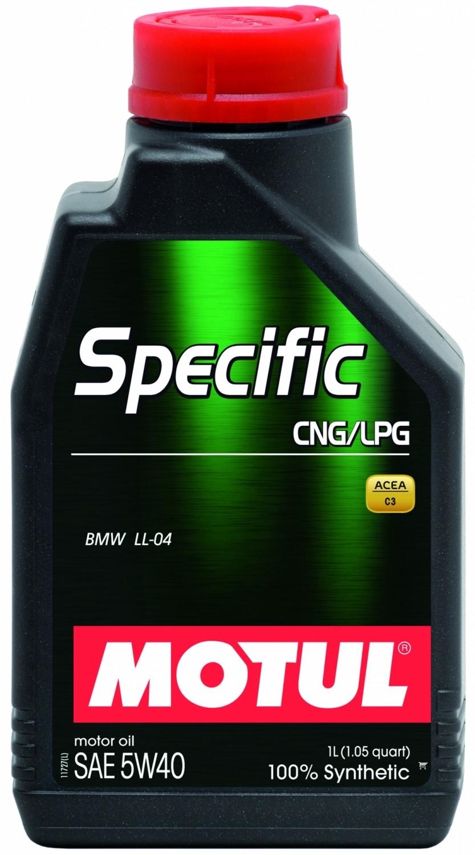Pilnai sintetinė variklio alyva MOTUL SPECIFIC CNG/LPG 1L