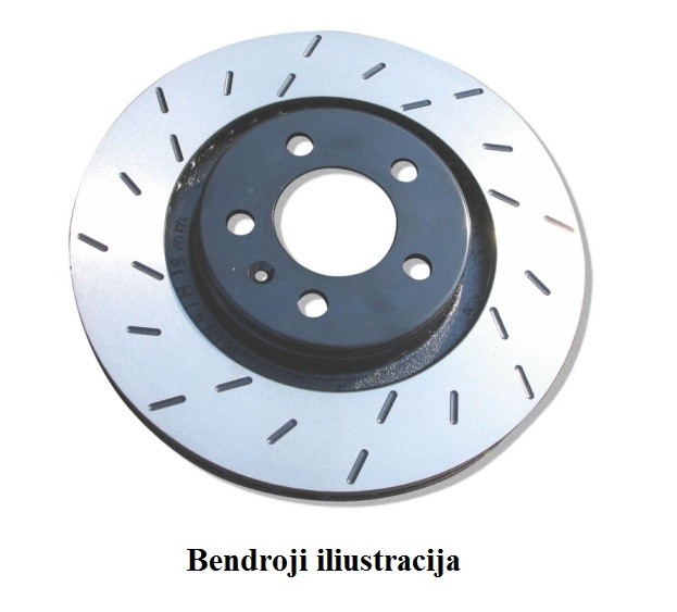 Stabdžių diskai EBC Ultimax USR1386