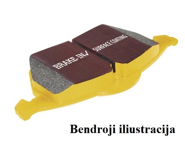 """Stabdžių kaladėlės EBC """"Yellowstuff"""" DP42130R"""
