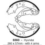 Būgninių stabdžių kaladėlės EBC 6593