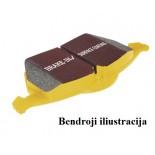 """Stabdžių kaladėlės EBC """"Yellowstuff"""" DP42067R"""
